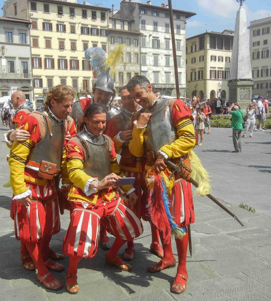 Il corteo della festa di San Giovanni patrono di Firenze