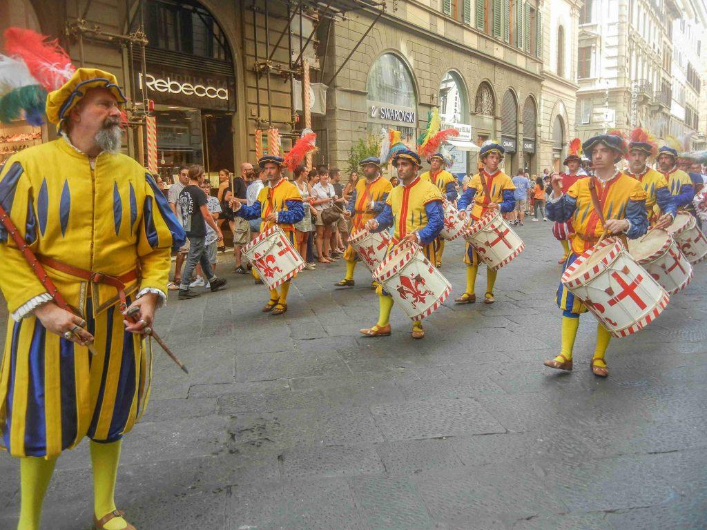 Il corteo storico della Repubblica Fiorentina