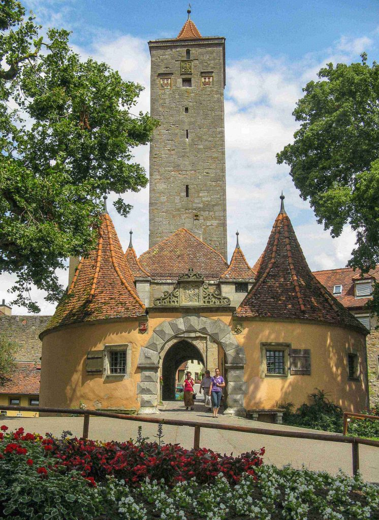 Cose da fare a Rothenburg: la Burgtor