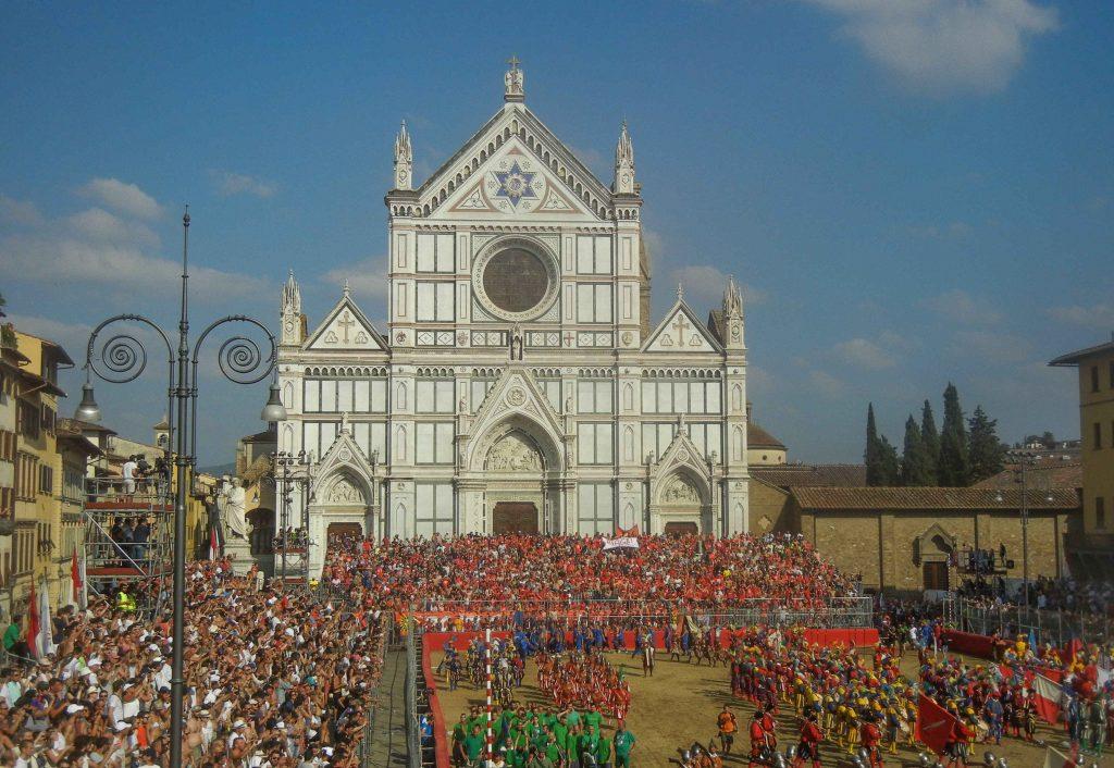 La festa del patrono di Firenze: il calcio storico