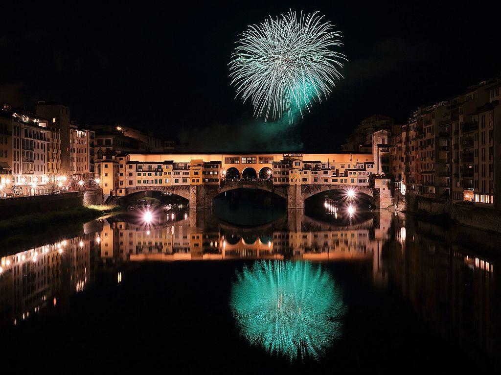 La festa del patrono di Firenze: I fochi di San Giovanni