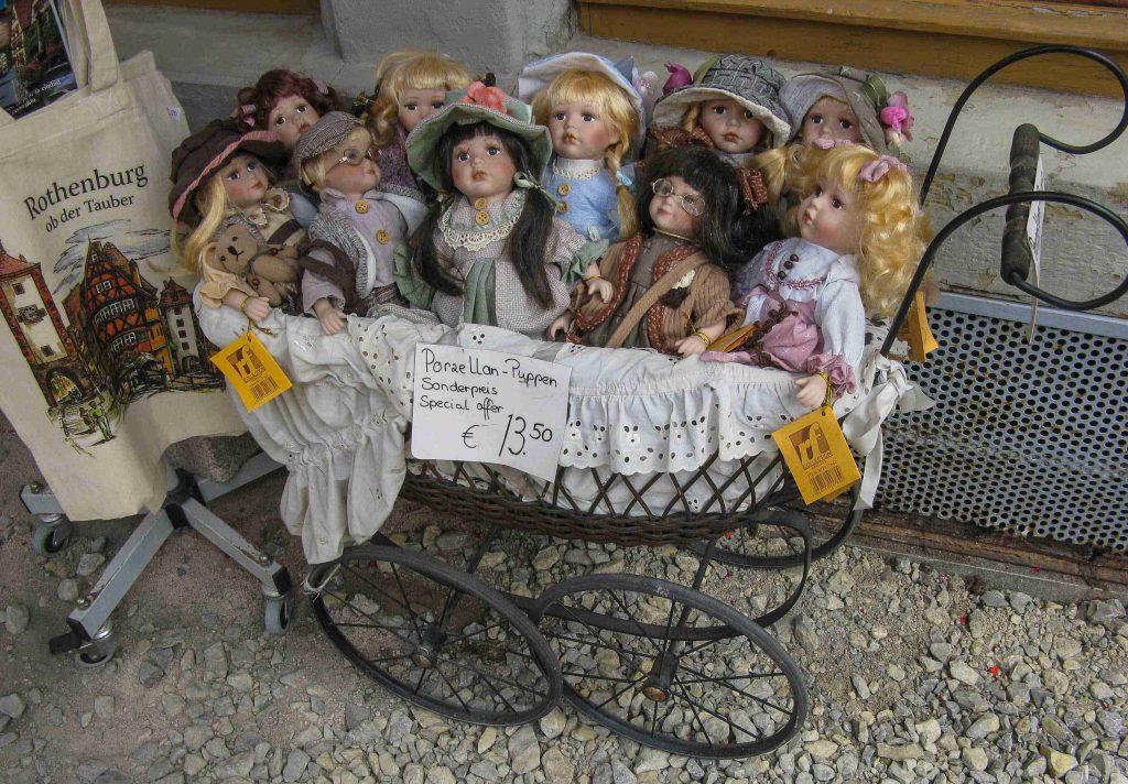I negozi di Rothenburg ob der Tauber
