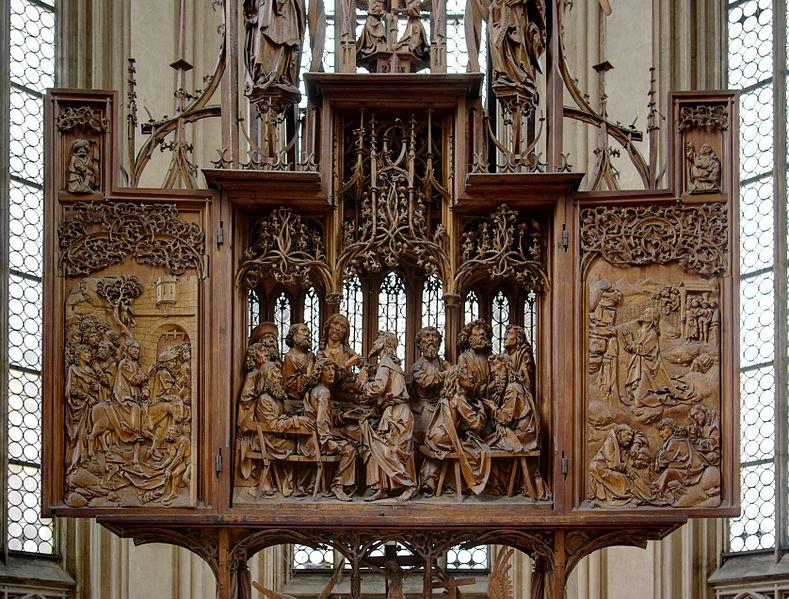 Rothenburg: la chiesa di San Giacomo