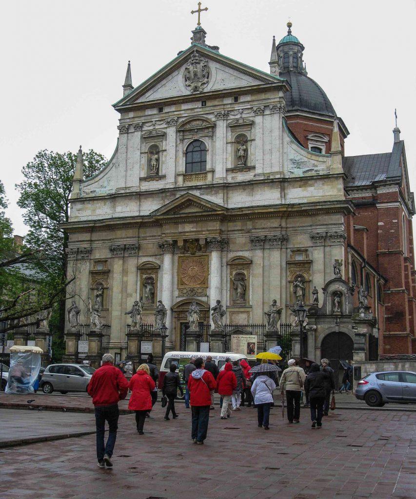 Centro storico di Cracovia: la Chiesa di San Giovanni e Paolo