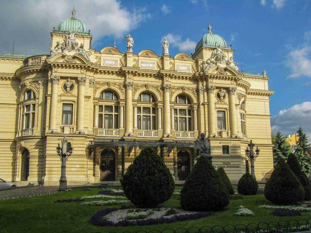 Centro storico di Cracovia: il Teatro