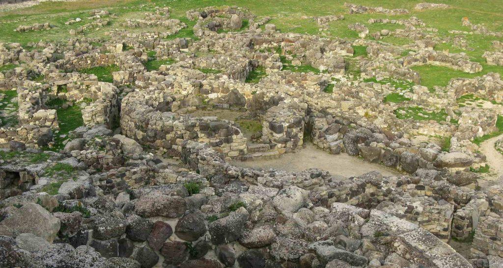 Villaggio nuragico di Barumini: la cappelle delle riunioni