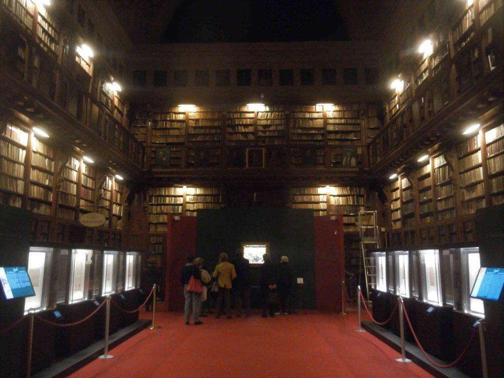 La Sala Federiciana della Pinacoteca Ambrosiana di Milano