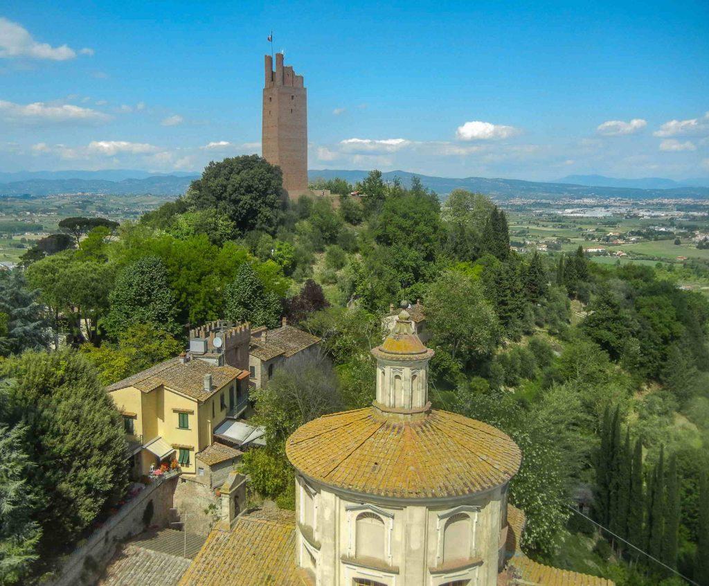 La Rocca di Federico II vista dalla Torre di Matilde