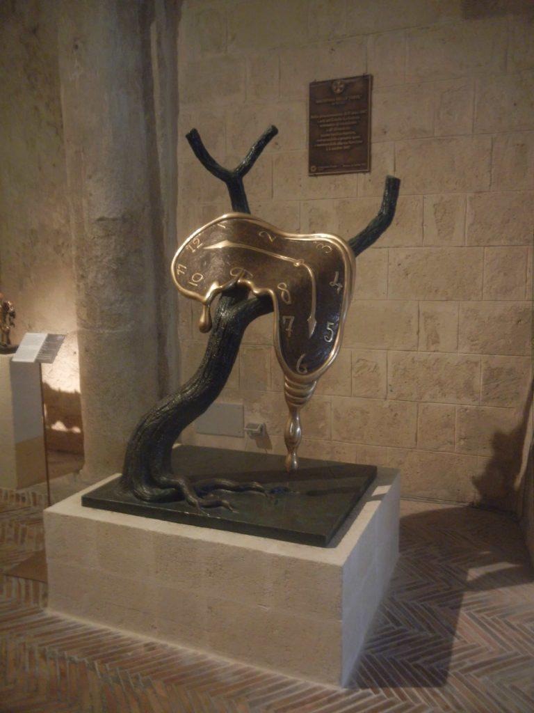 Mostra di Dalì a Matera: l'Orologio Molle
