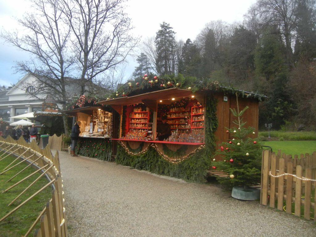 Le casette dei mercatini di Baden Baden