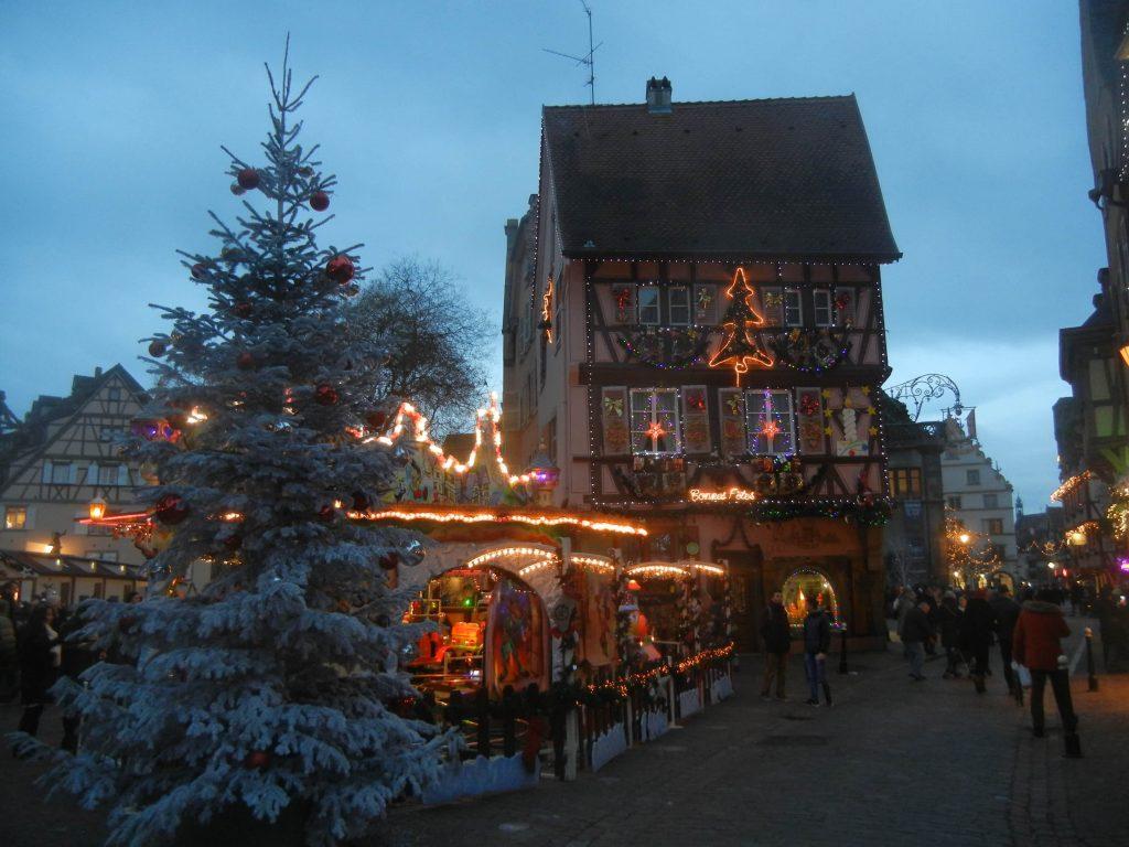 Decorazioni di Colmar a Natale