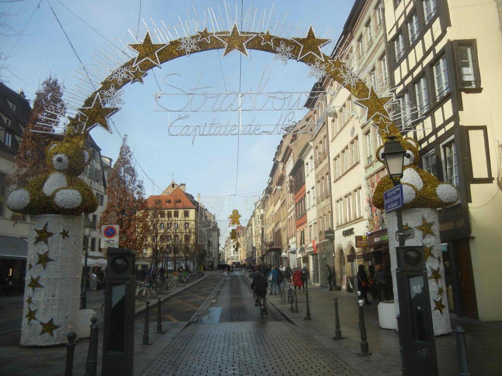 L'ingresso ai Mercatini di Strasburgo