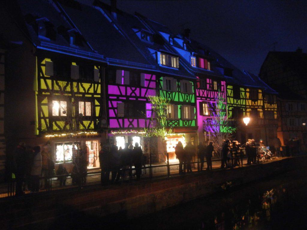 Luci di Natale a Colmar