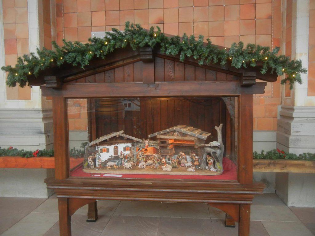Mercatini di Baden Baden: uno dei presepi della Trinkhalle