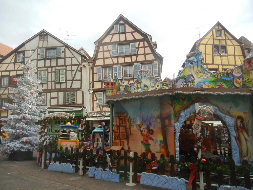 Natale a Colmar: Place de l'Ancienne Douane