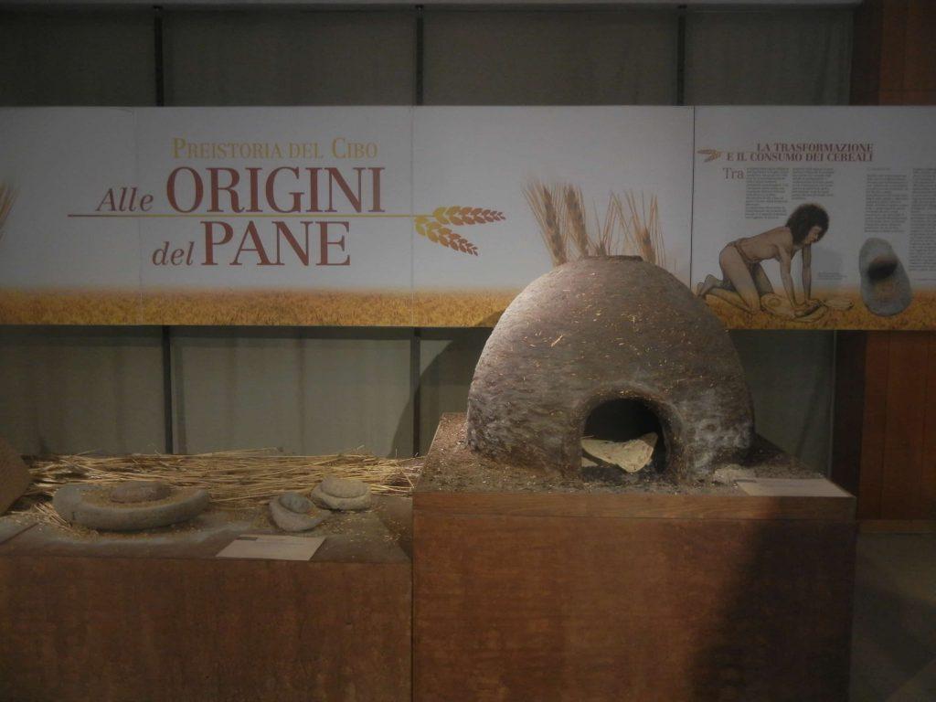 """Il forno della mostra """"Preistoria del cibo - Alle origini del pane"""""""