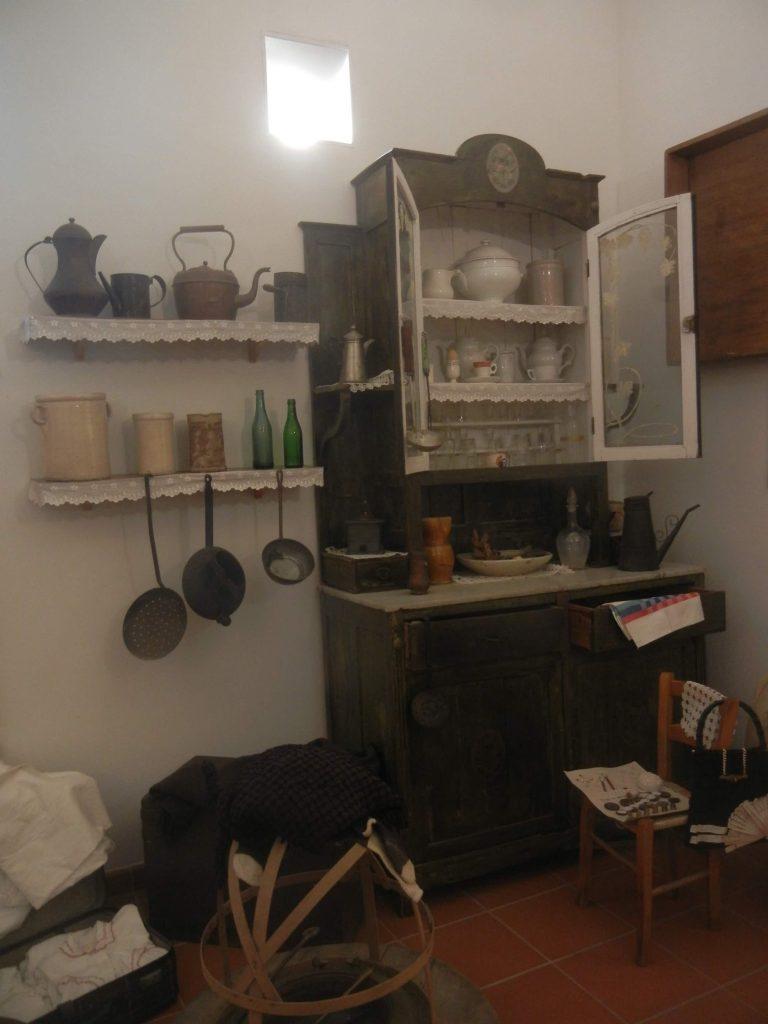 Spazio abitativo al Museo Etnografico dell'Alta Murgia