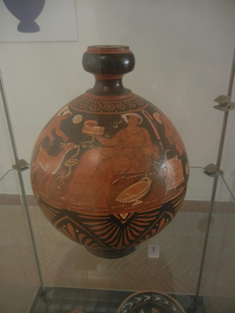 Ceramica dipinta del Museo Ridola