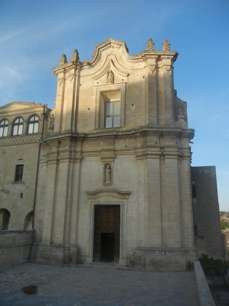 Le dieci cose da vedere a Matera: chiesa di Sant'Agostino