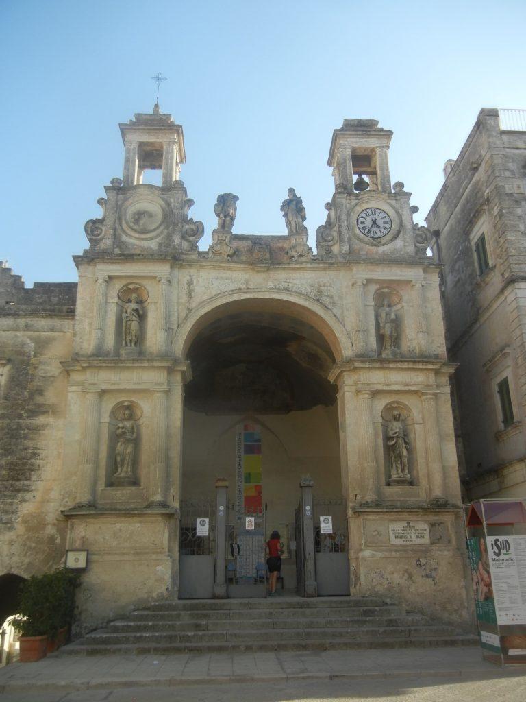 Il Palazzo del Sedile a Matera