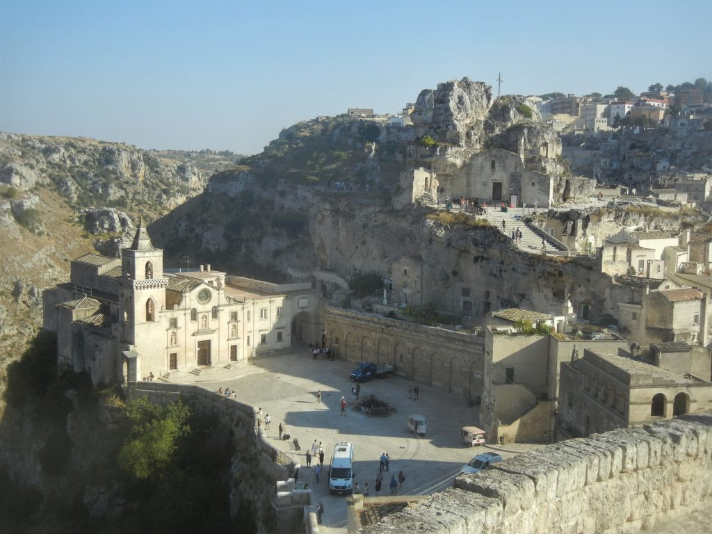 Panorama da Via Muro a Matera