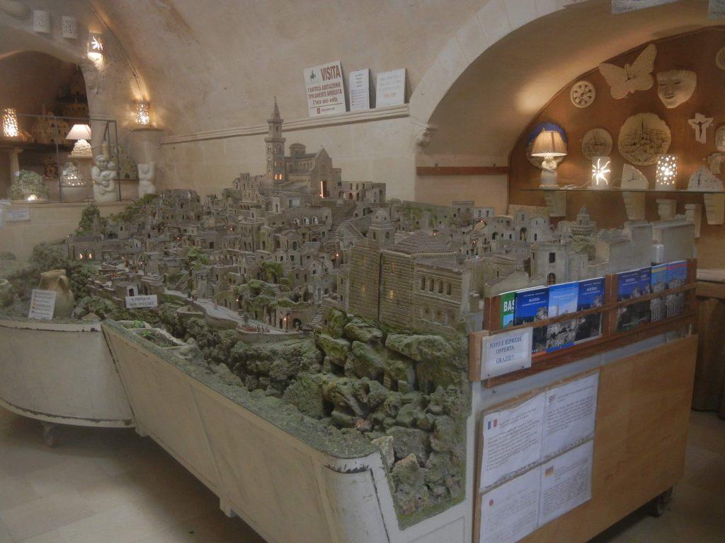 Il plastico dei Sassi di Matera-eustachio-rizzi