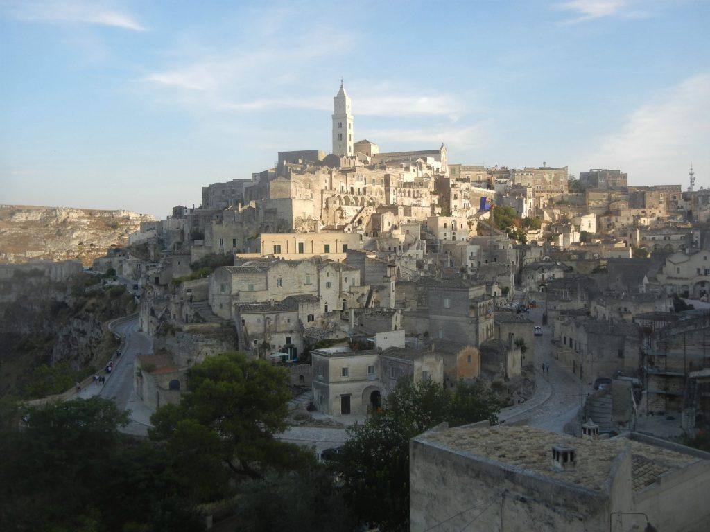 Vista dalla chiesa di Sant'Agostino nel Sasso Barisano