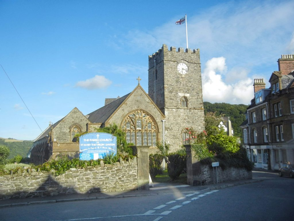 La chiesa parrocchiale di Lynton