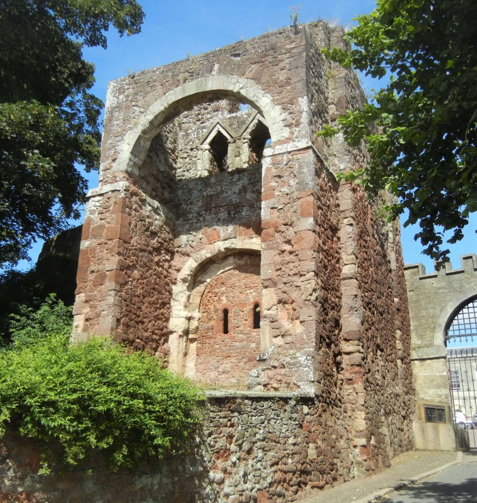Porta d'ingresso al Castello di Exeter