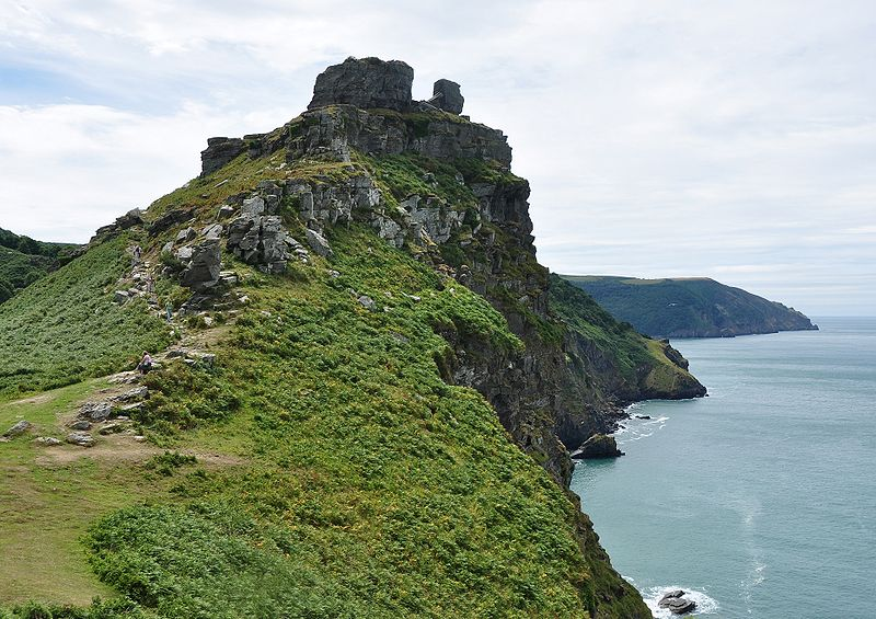 Valley of Rocks a Lynton