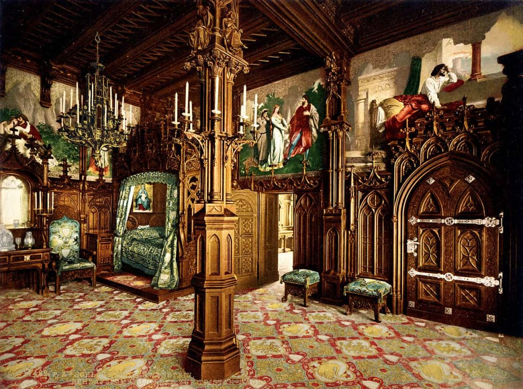 La camera da letto di Ludwig