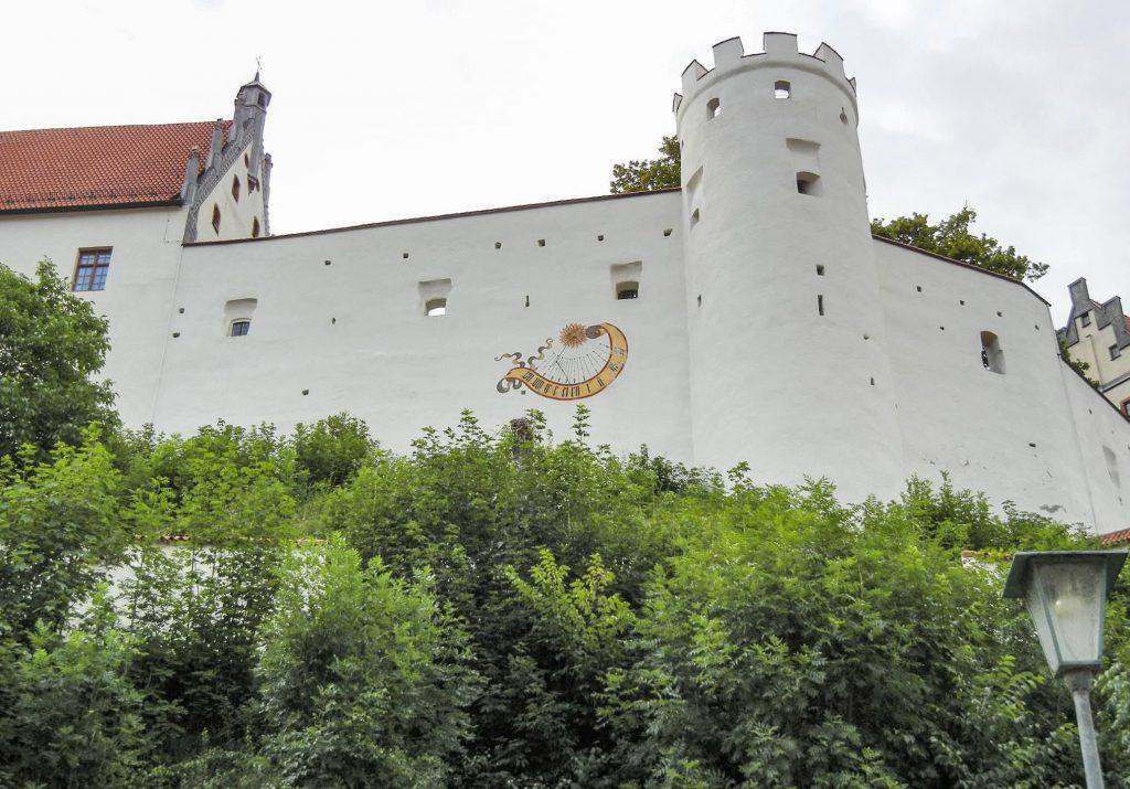Il castello alto di Fussen