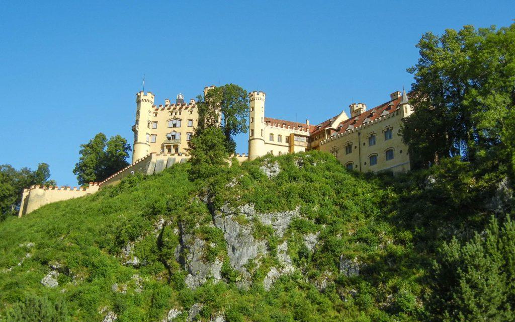 Il castello di Hohenschwangau nei dintorni di Fussen
