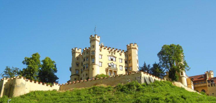 Castello di Ludwig nei dintorni di Fussen