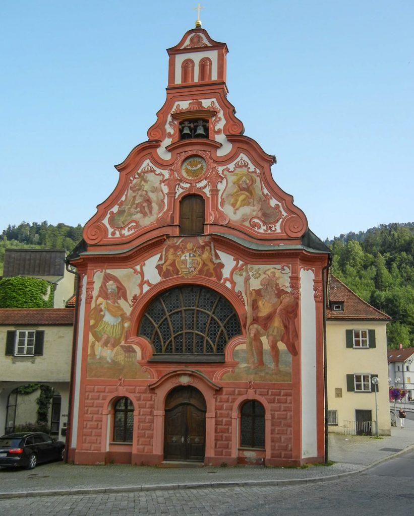 La chiesa dello Spirito Santo di Fuessen