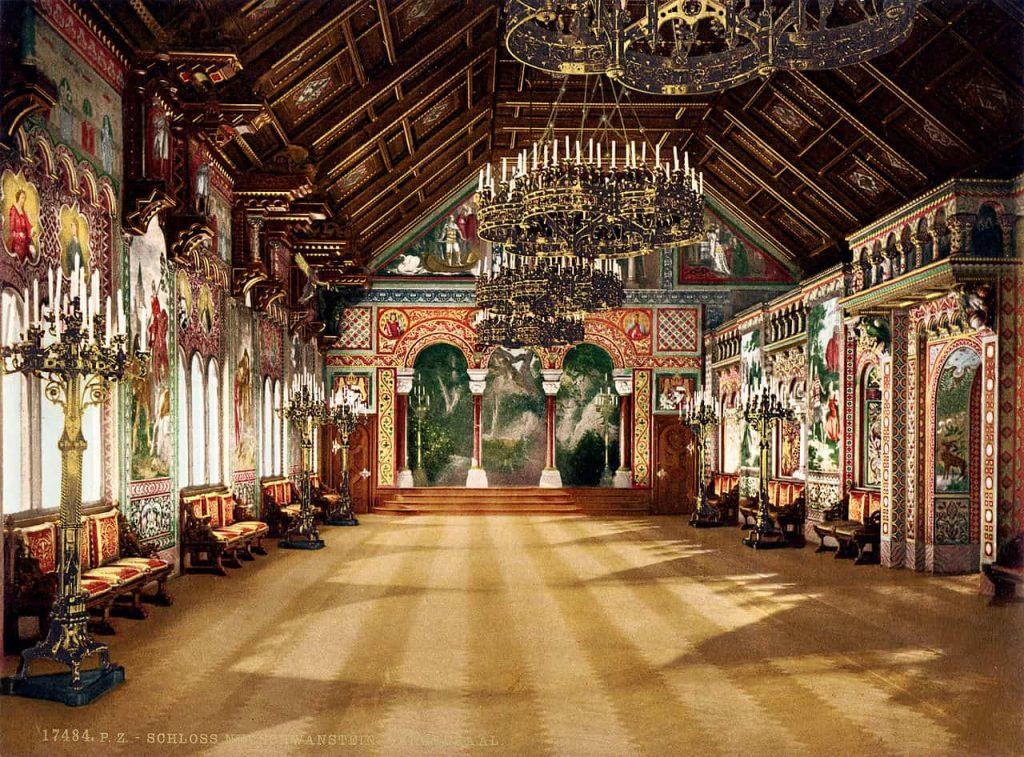 La sala dei Cantori