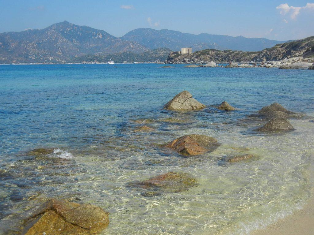 Il mare di Santo Stefano a Villasimius