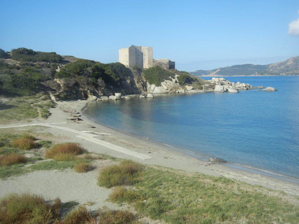 Spiaggia della Fortezza a Capo Carbonara